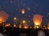 Beautiful Lanterns in The Sky