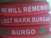 Wristbands to support the Mark Burgan Memorial FUnd